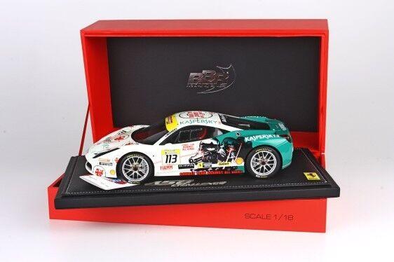 Ferrari 458 Challenge Monza 2012 BBR MODELS 1 18  P1847