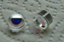 7.75 mm Diam. Broadband HeNe Laser Mirrors 543/594/605/612/633 nm New Lot of 2