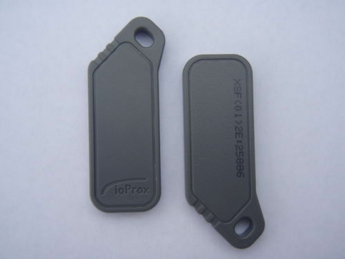Kantech P40KEY ioProx XSF//26 bit Proximity Keytag Identification 25 pack Keyfob