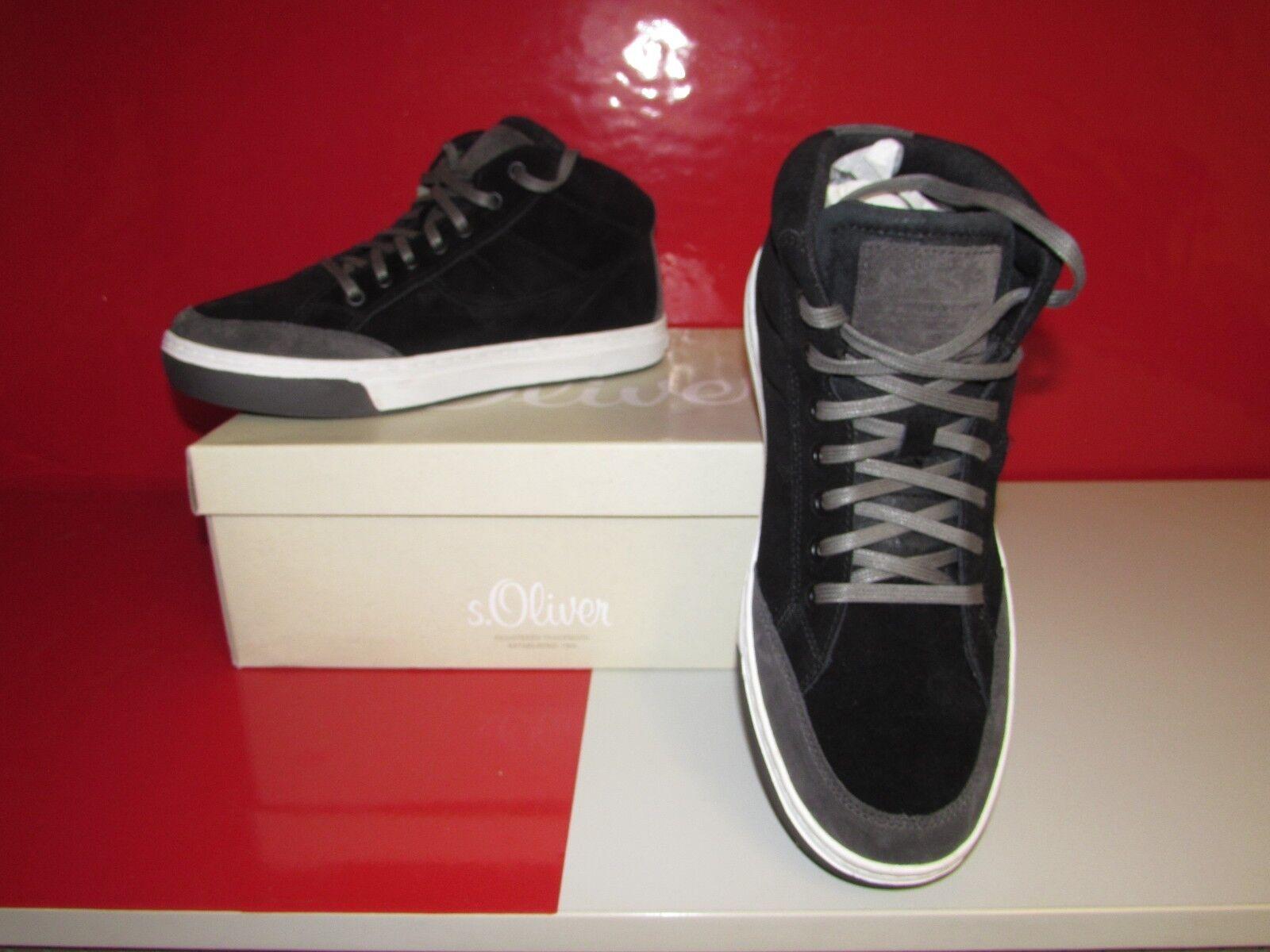 S.Oliver Casual 5-5-15206-21, Herren EU Sneaker, Schwarz (BLACK 001), EU Herren 45 ad6e1d