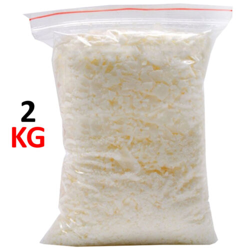 1KG 5KG 100/% Pure Soy Wax// Soya Candle Making Wax Natural Flakes Clean Burning