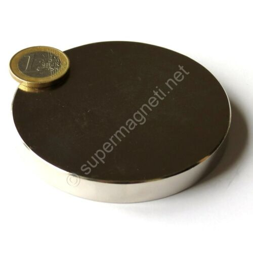 80x10 mm Potenza 300 Kg Acqua Magnetizzata Super Magnete Disco in Neodimio diam