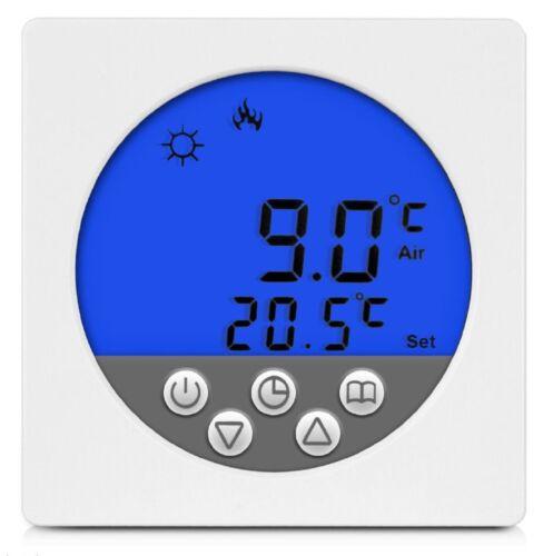 Digital thermostat réservoir chauffage rétro-éclairage bleu #a33