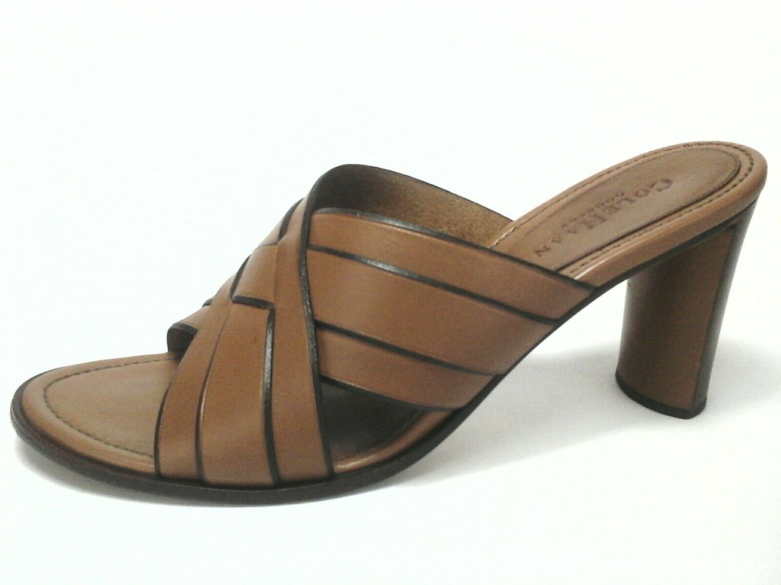 COLE HAAN Country Sandals shoes Tan Brown Slip On Women's US 9 39.5  160