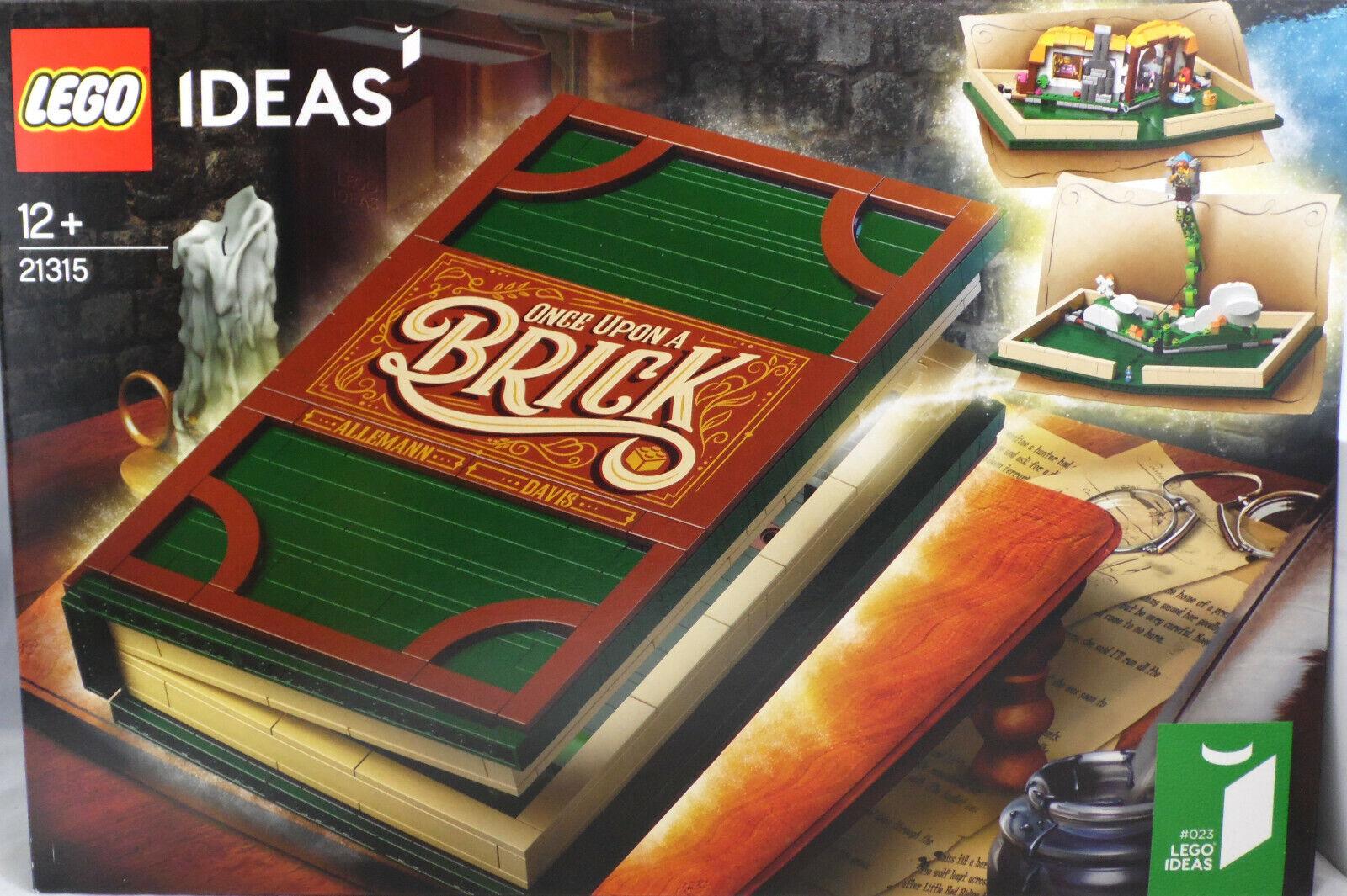 Lego ideas 21315 pop-up-libro cuentos de hadas rojokäpchen, Hans y los frijoles recién