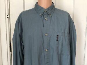 Columbia-Shirt-Mens-Size-XLT-Tall-Long-Sleeve-Blue-X-LT-Large