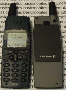 Ericsson R320 Bleu Factice Modèle D'écran Non Fonctionnel Téléphone Mobile-afficher Le Titre D'origine