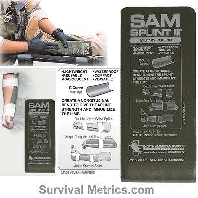 SAM Splint II Tactical & Military Limb Splint