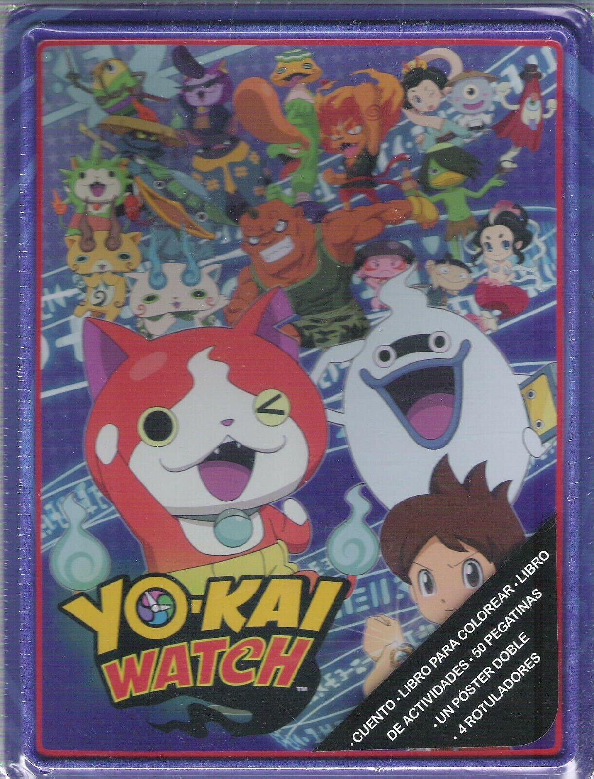 Yo Kai Watch caja metalica