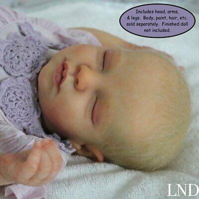 """DIY 18/"""" Reborn Doll Parts Kit Realborn® Zuri Sleeping"""