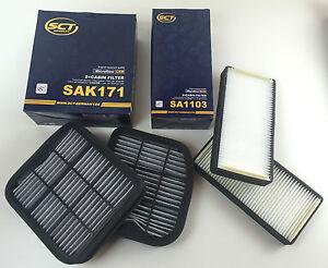 Filtro-set-2-x-aktikkohlefilter-2-x-interior-espacio-filtro-sct-Germany-w210-s210-w220