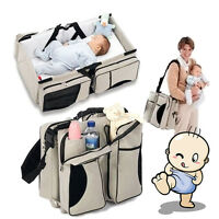 2in1 Crib Bassinet Portable Nursery Bed Diaper Bag Baby Infant Foldable Travel