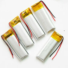 5pcs 3.7V 180mAh LiPo Polymer Battery For Mp3 gps Bluetooth Video Pen MP4 501235