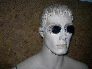2 paires de LUNETTES de natation, SUEDOISES de compétition - Miroir bleutée