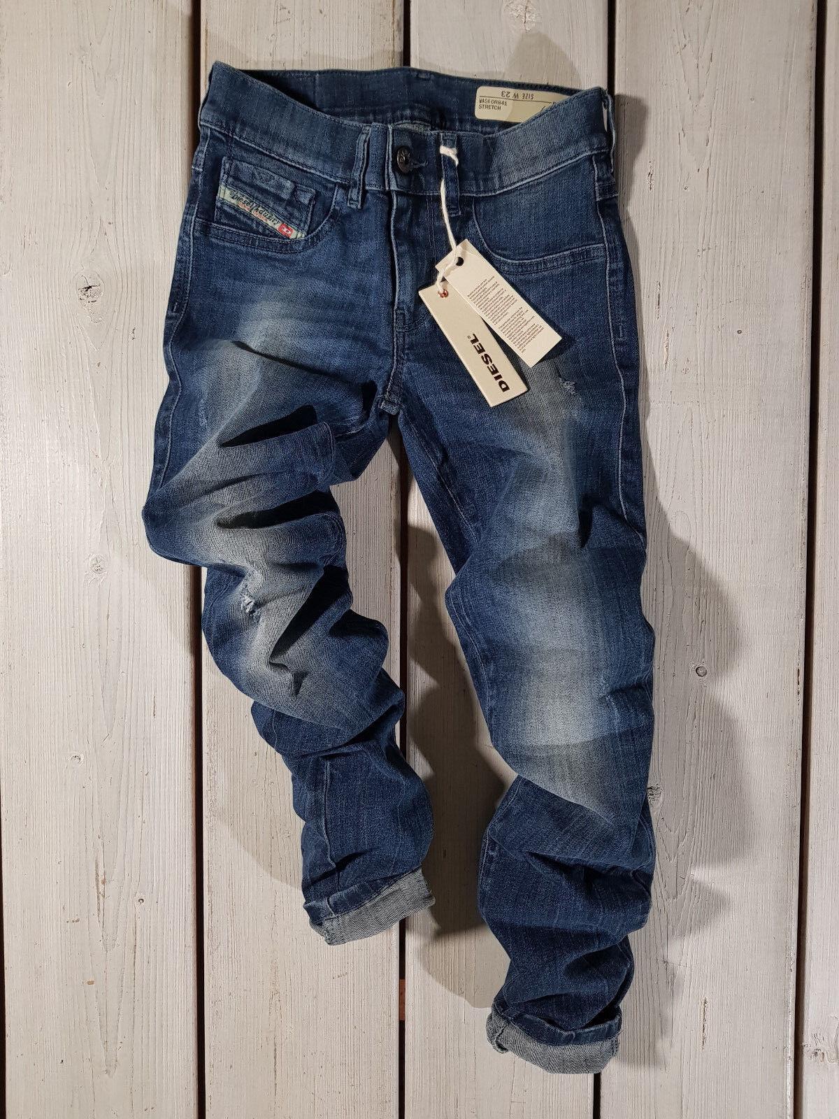 Prezzo di Vendita Consigliato Nuovo Diesel DONNA Jeans W23 W23 W23 Livier-Ankle 0r841 15db80