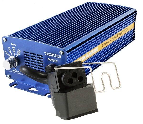 Xtrasun E-lastre 600W 120-240V Regulable Digital ahorrar   Con Bay Hydro