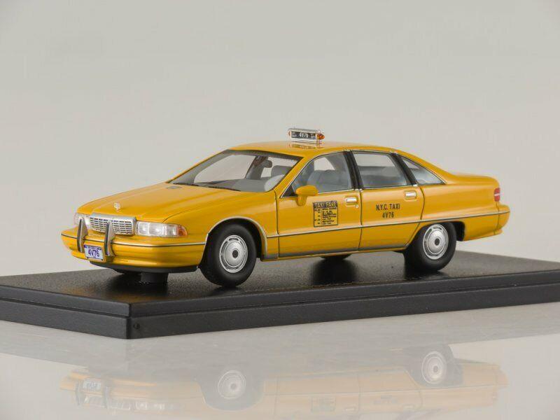 Modelo a escala 1  43 Chevrolet capris, taxi (EE.UU.