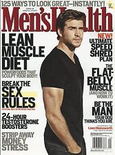 Mens Health magazine Liam Hemsworth Lean muscle diet Testosterone boosters Sex
