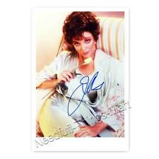 Joan Collins / Alexis Carrington Colby - Der Denver-Clan Autogrammfoto [A1] 