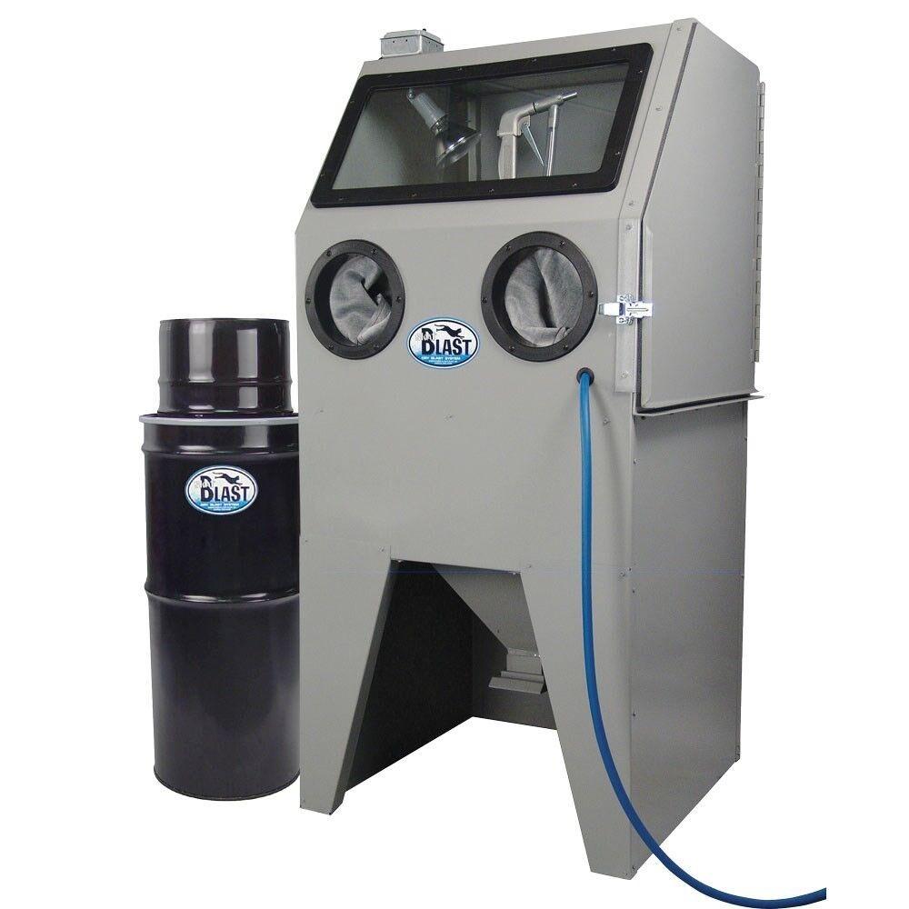 TP Tools® USA SKAT CAT 28V Abrasive Blast Cabinet with Vac-50 Vacuum, USA
