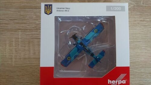 Nuevo Herpa 559713-1//200 Marina ucraniana Antonov AN-2
