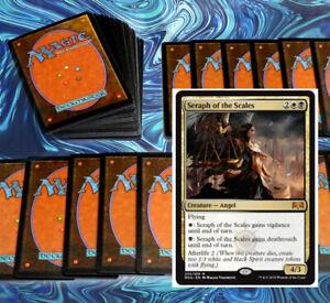 mtg-BLACK-WHITE-ORZHOV-LIFELINK-DECK-Magic-the-Gathering-rares-60-cards-obzedat