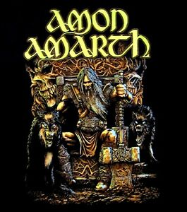 AMON-AMARTH-cd-lgo-THOR-ODIN-ODEN-039-S-SON-Official-SHIRT-XXL-2X-new