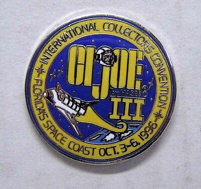 Oct 1996 GI JOE International Collectors Convention III Ltd Ed Pin (GIPI-001)