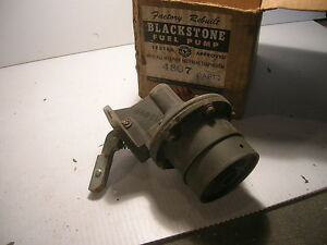 Details about Ford Falcon Mercury Comet fuel pump parts missing 1960 1961  #4897