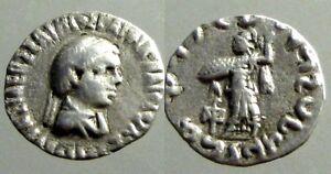 Ancient-Greek-Menander-I-Soter-155-130-BC-AR-Drachm-Athena-Alkidemos