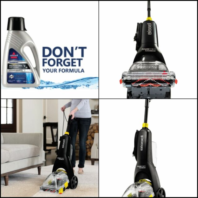 Bissell Powerforce Powerbrush 47b2w Carpet Cleaner For