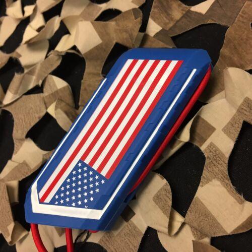 NEW HK Army Ball Breaker 2.0 Barrel Cover Sock Plug Condom USA Red//White//Blue
