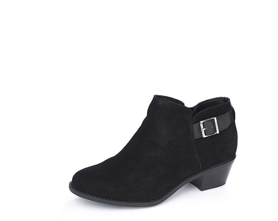 Vionic Orthotic Millie Suede Ankle Boots with FMT Technology Black UK 5 EUR 38