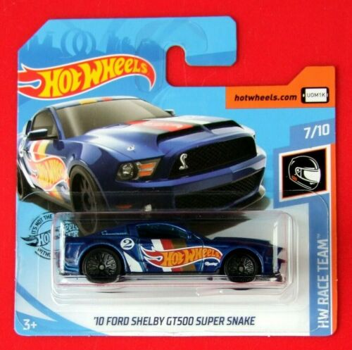 Hot Wheels 2019   ´10 FORD SHELBY GT500    ==HW RACE TEAM==  192//250 NEU/&OVP