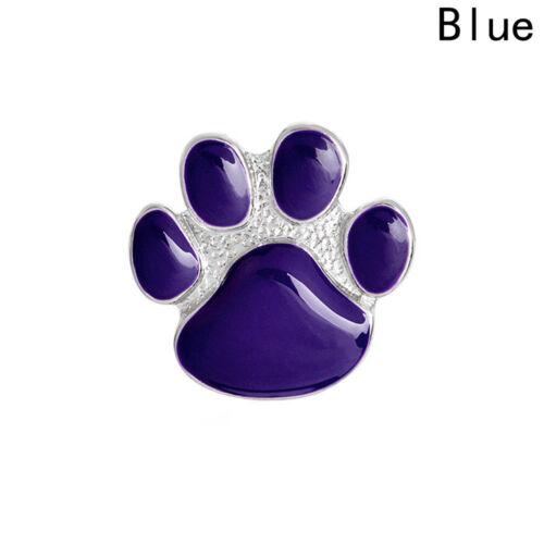 New Purple Paw Print Cat Dog Pet Cute Hat Brooch Pin Unisex Casual Gift Bag