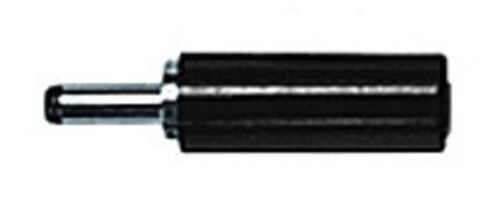 SOLDER TYPE w//BLACK CAP # MP121M//68-0021 1 PC CES 2.1mm BARREL DC MINI PLUG