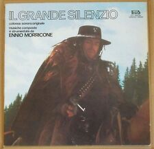 ENNIO MORRICONE - IL GRANDE SILENZIO ost - LP 33 giri Beat serie blu 1978