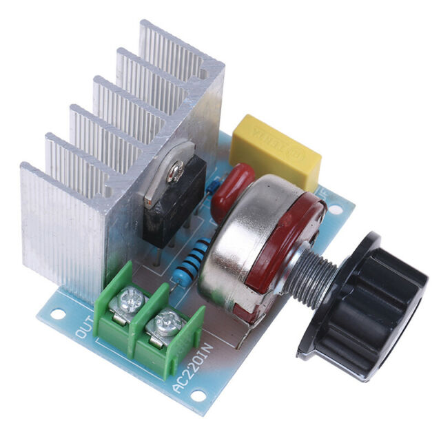AC 220V 4000W High Power SCR Electronic Volt Regulator Motor Speed Controller HF