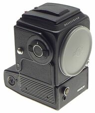 HASSELBLAD 500 EL/M CAMERA BODY WITH WAIST LEVEL FINDER BATTERY CONVERSION DONE