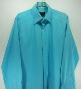 5-Zafffrano-Camisa-hombres-Camisetas-Tops-Talla-L-de-Vestir-Slim-Sport-Mujer