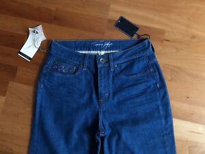 Tommy Hilfiger Jeans Paris Gr 28/34 Neu Mit Etikett Classic Fit GläNzend Damenmode Jeans