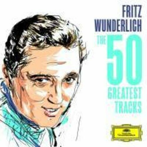 Fritz Wunderlich - Wunderlich - The 50 Greatest Tracks [New CD]