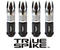 24 Vms Racing 89mm Forged Steel Lug Nuts W/ Chrome Poseidon Tips Dodge Dakota