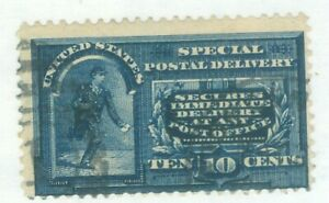 US-E-4 SPECIAL POSTAL DELIVERY 10c issued 1894