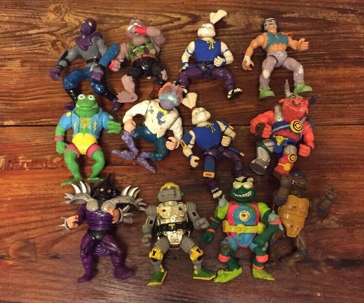 Teenage mutant ninja turtles actionfigur viele 12 - original