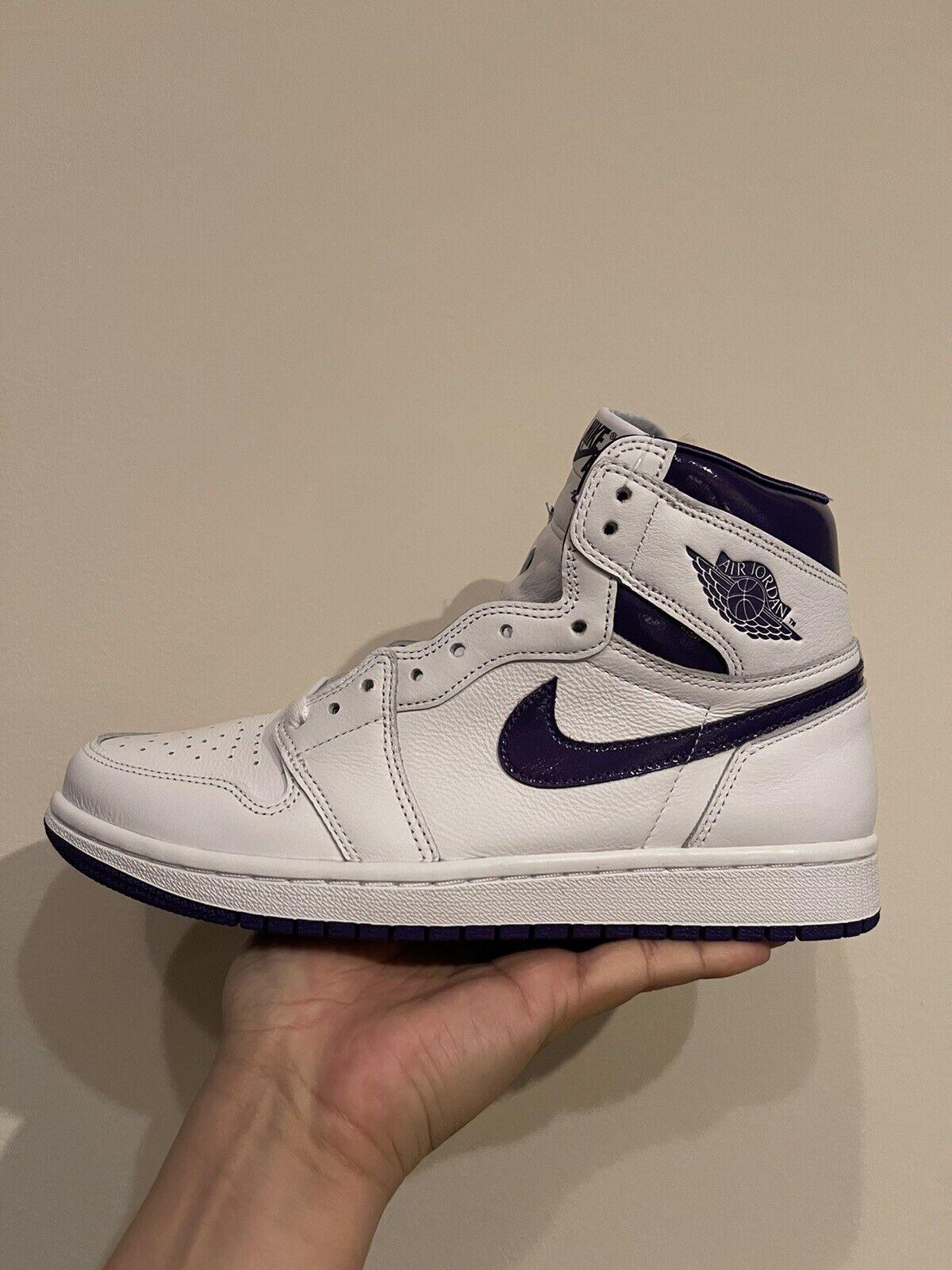 Jordan 1 Retro High Court Purple 8.5W Brand New