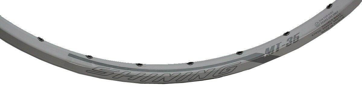Rim Shining Cycle MT35 bianca 26 Inch 32hole 360 Gramm 55918