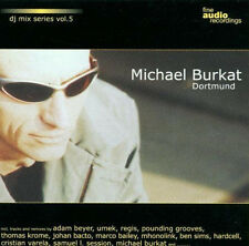 DJ MIX SERIES 5 =Michael Burkat= Beyer/Umek/Krome/Sims...=CD= ELECTRO TECHNO MIX