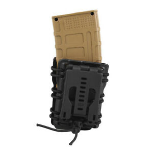 Tactical-Mag-Pouch-Magazine-Carrier-For-MOLLE-Quick-Pull-Belt-5-56-223-NEW
