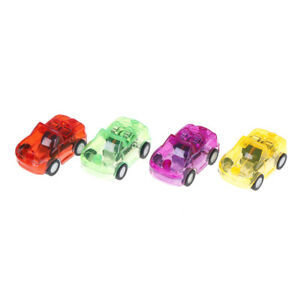 2pc Baby Toys Plastic Pull Back Cars Toy Mini Car Model Kids Toys vbukPRNK Z~JP